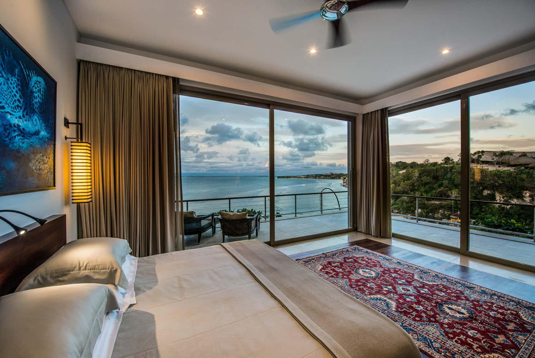 Editing luxury hotel resort villa photography for Design hotel bali