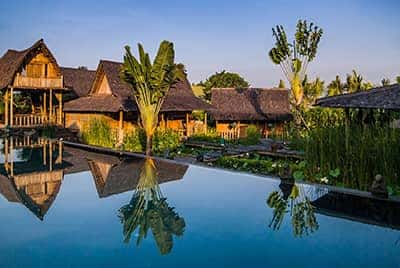 Professional luxury villa photography by LuxViz in Bali Indonesia - Villa Asli
