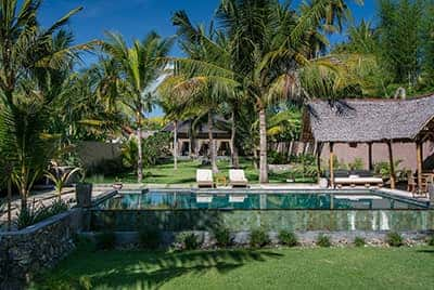 Professional luxury villa photography by LuxViz in Bali Indonesia - The Beach Villa