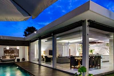 Professional luxury villa photography by LuxViz in Bali Indonesia - Villa Bersantai