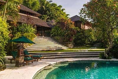 Professional luxury villa photography by LuxViz in Bali Indonesia - Villa Bougainvillea
