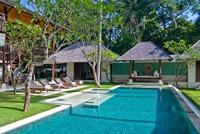 Professional luxury villa photography by LuxViz in Bali Indonesia - Villa Kemah Tinggi