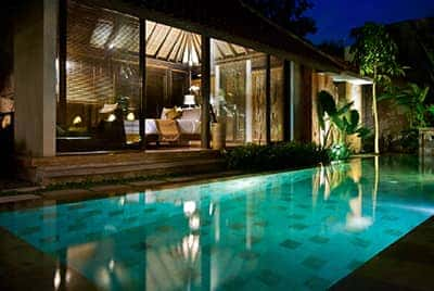 Professional luxury villa photography by LuxViz in Bali Indonesia - Komea Villas