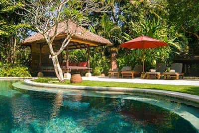 Professional luxury villa photography by LuxViz in Bali Indonesia - Villa Pangi Gita