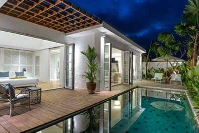 Professional luxury villa photography by LuxViz in Bali Indonesia - Sentosa Umalas