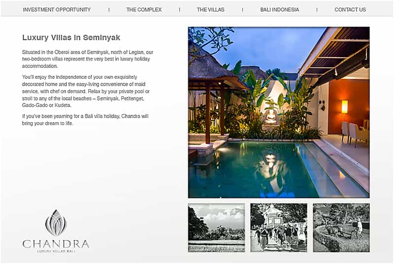 professional mobile-optimized website design by LuxViz in Bali Indonesia